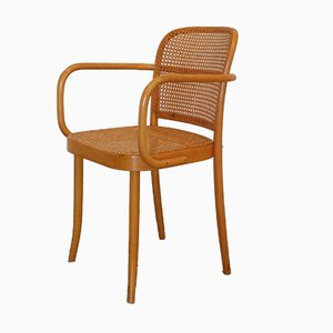 No. 811 Prague Chair by Josef Hoffmann for Ligna, 1980s