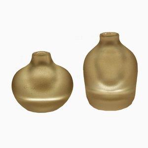 Vasen von Göran Wärff von Kosta, 1970er, 2er Set