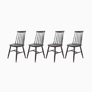 Mid-Century Esszimmerstühle von Ilmari Tapiovaara, 1960er, 4er Set