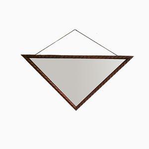 Dreieckiger Art Deco Spiegel, 1920er