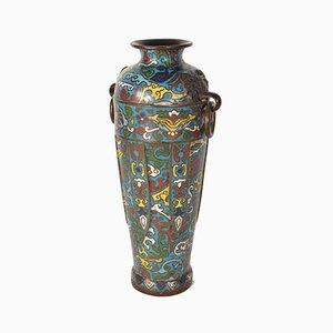 Japanische Vase, 19. Jh.