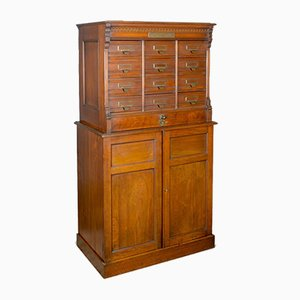 Large Antique Filing Cabinet from Shannon File Co., 1910s