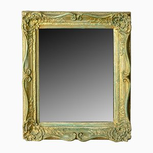 Victorian Painted Gilt Gesso Wall Mirror, 1890s