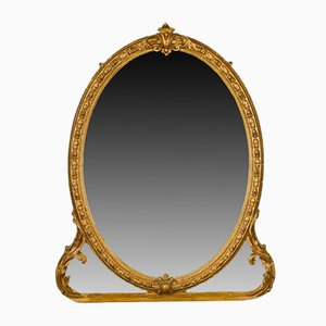 Antique English Wall Mirror, 1850s