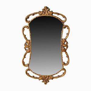 English Gilt Gesso Wall Mirror, 1880s