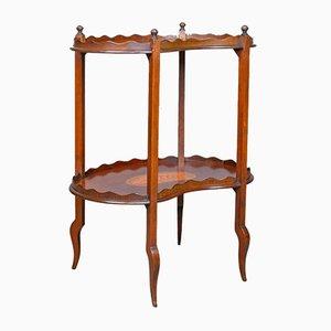 Mesa de té inglesa antigua, años 10