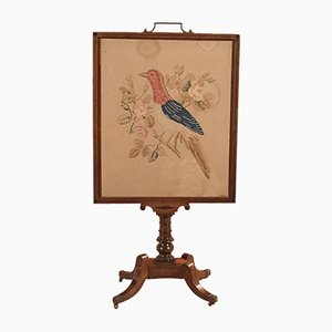 Antique Regency Mahogany Tapestry Display Stand