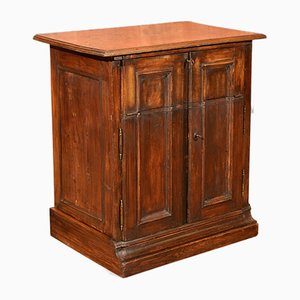 Antique French Oak Cupboard, 1850s