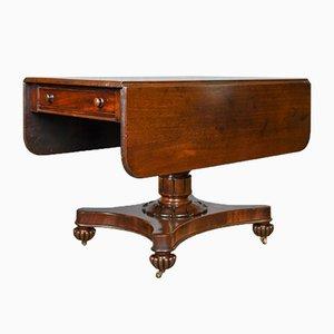 Antiker William IV Pembroke Tisch aus Mahagoni, 1830er