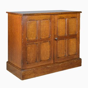 Edwardian Oak Cupboard, 1910s