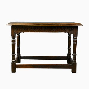 18th Century English Oak Console Table