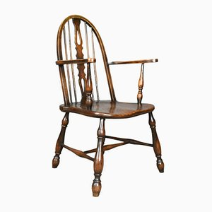 Victorian Bow Back Windsor Armchair, 1890s