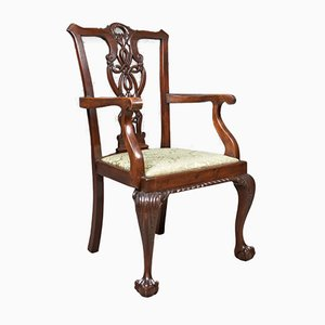 Antique Carver Chair, 1890s