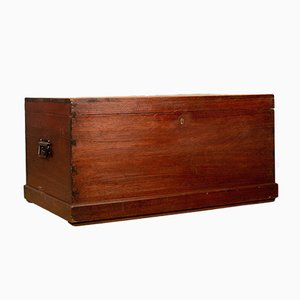 Antique Teak Trunk, 1890s