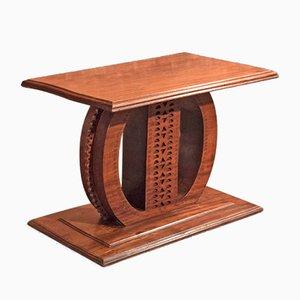 Tavolo antico coloniale in legno massiccio