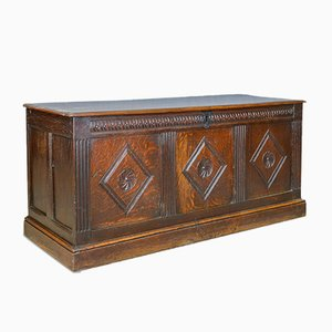 Antique English Oak Chest