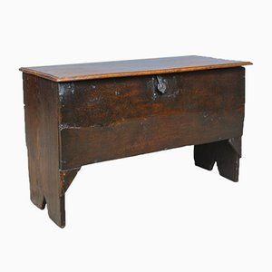 Antique English Oak Sword Chest, 1660s