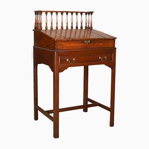 Antique English Mahogany Secretaire Writing Desk, 1870s