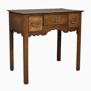 Antique Victorian English Mahogany Side Table, 1900s