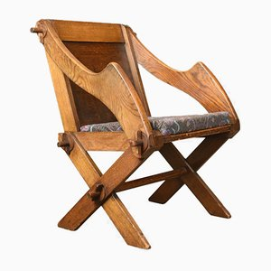 Antiker Glastonbury Chair