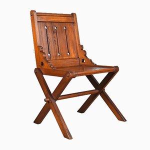 Antique Glastonbury Chair, 1880s