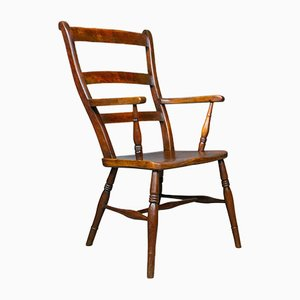 Antique Oxford Elbow Chair, 1850s