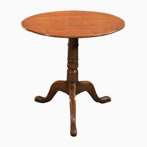 Table d'Appoint Georgienne Antique en Chêne