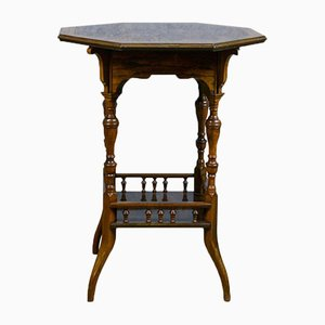 Antique Rosewood Side Table, 1890s