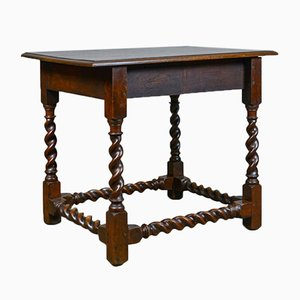 Antique Victorian English Side Table, 1880s