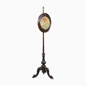 Antique Fire Pole Screen