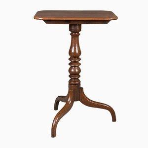 Antiker georgianischer Tilt Top Weintisch
