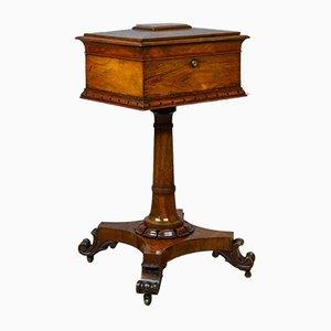 Mesa de té inglesa de palisandro, década de 1830