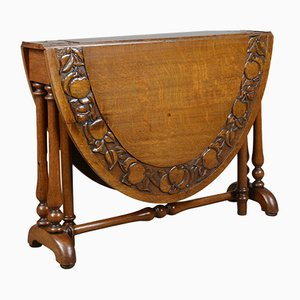 Antiker handgefertigter Sutherland Tisch, 1900er