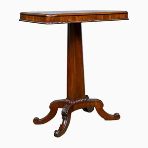 Antique Flame Mahogany Wine Table, 1835