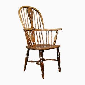 Antiker Windsor Elbow Stuhl, 1850er