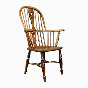 Antique Windsor Elbow Chair, 1850s