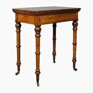Mesa ajustable antigua, década de 1850