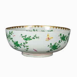 Large Late 20th Century Chinese Porcelain Lychee Bowl