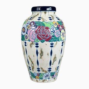 Large Vintage Baluster Vase