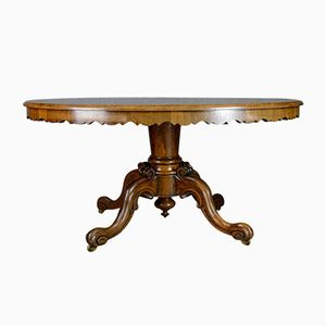 Antique Rosewood Tilt-Top Dining Table, 1830s