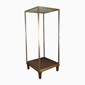 Large Mid-Century Bronze Display Case from A. Edmonds & Co