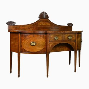 Large Antique Mahogany Sideboard, 1800s