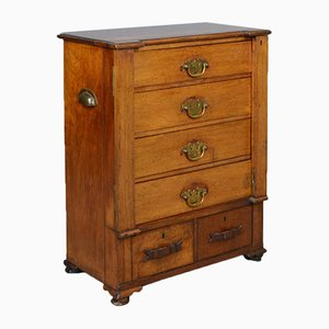 Small Antique Wellington Chest,1890s