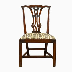 Antique English Dining Chairs, Set of 6