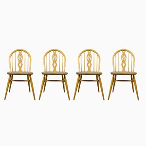 Mid-Century Modern Dining Chairs, 1960s, Set of 4