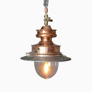 Lampada a gas antica, Regno Unito, fine XIX secolo