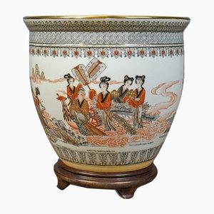 Vaso Mid-Century in ceramica, Cina