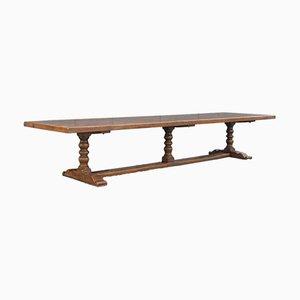 Grande Table de Réfectoire de Style Jacobéen, Angleterre