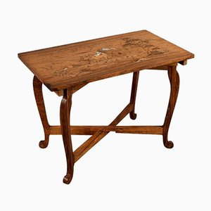 Table d'Appoint Vintage en Palissandre