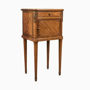 Antique French Marble Topped Nightstand